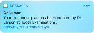 SMS Treatment Plans Demo