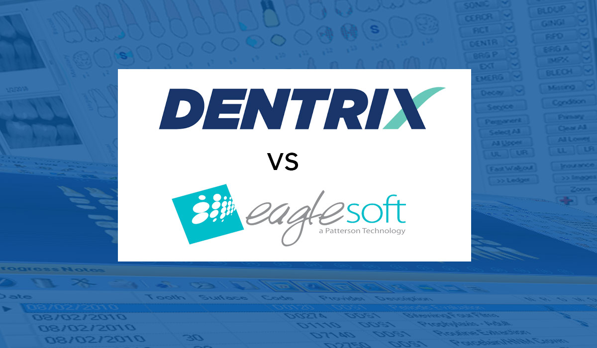 Dentrix vs EagleSoft Software Comparison